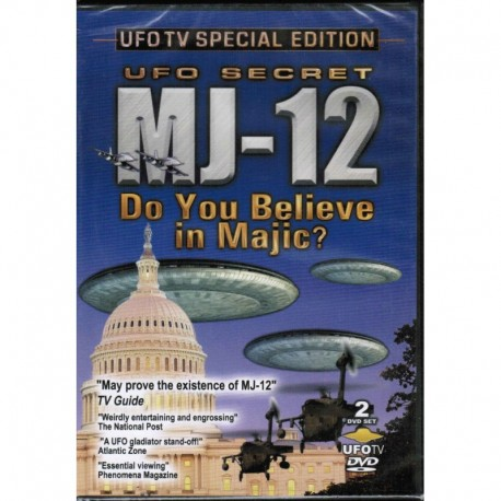 UFO Secret MJ-12: Do You Believe in Majic?
