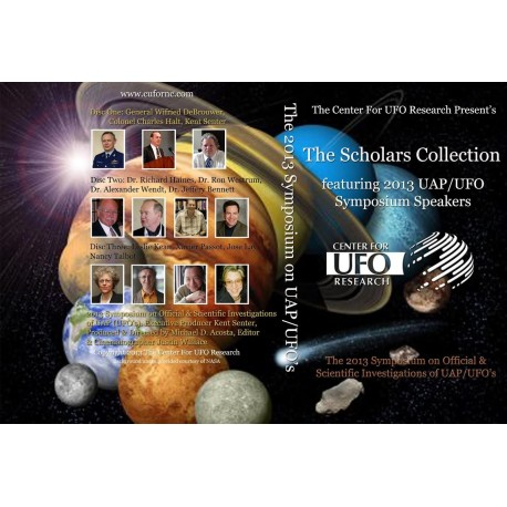 2013 UAP/UFO Symposium 3 disc DVD set
