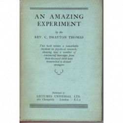 An Amazing Experiment