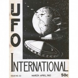 UFO International  Issue No. 22  - March-April, 1965 - Newsletter