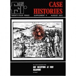 FSR-Case Histories - Supplement 11 - August 1972