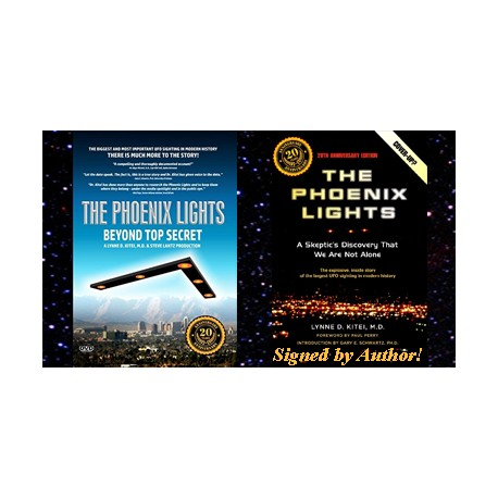 The Phoenix Lights - Book + DVD